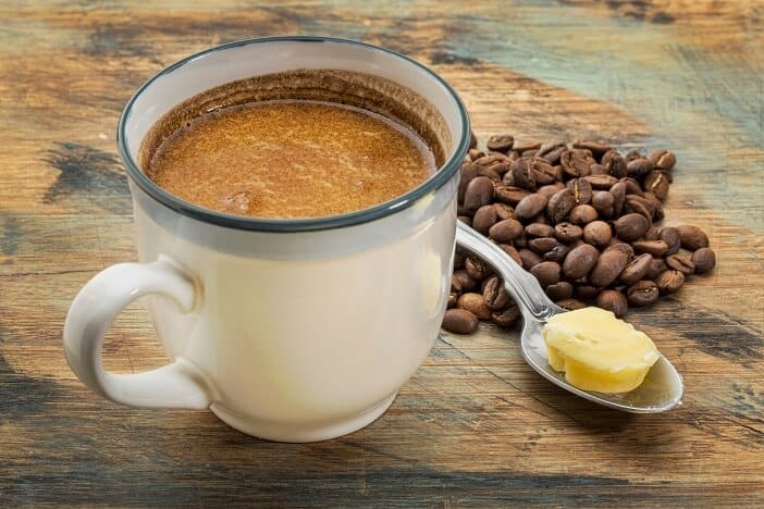 KETO DIET COFFEE WITH BUTTER